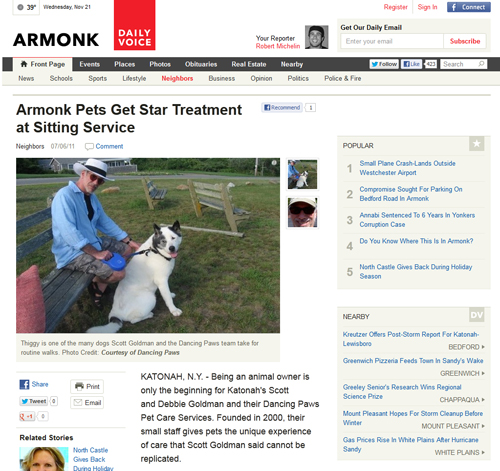 Armonk Daily News